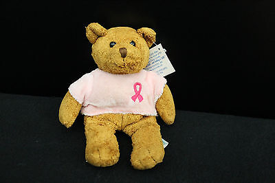 "Avon Breast Cancer Crusade 2001 Mini Teddy Bear Plush 6"" (NMWT)"