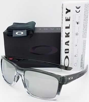 b67bf17c782 NEW Oakley Mainlink sunglasses Dark Ink Fade Chrome Iridium 9264-13  AUTHENTIC