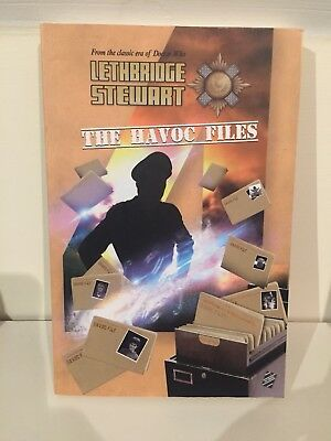 LETHBRIDGE STEWART THE HAVOC FILES 4 Brand New Paperback