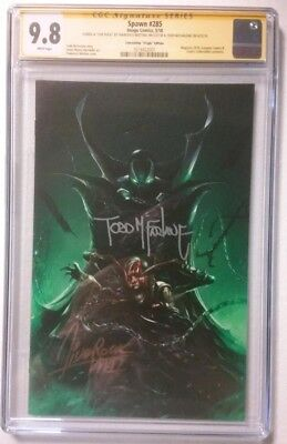 Spawn 285 Cgc Ss 2X Signed By Todd Mcfarlane Mega Con Exclusive