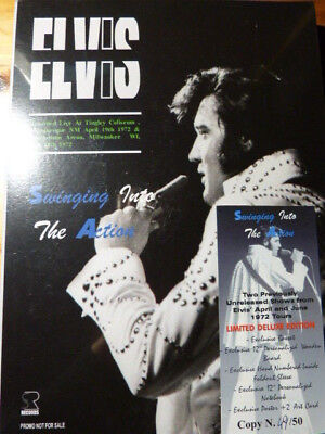 ELVIS PRESLEY Swinging into the action 1972 DELUXE set Sleeve 2 Lim Ed 2 CD RARE