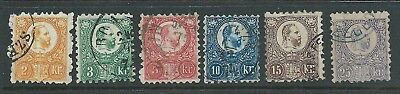 Prince Joseph 1871 Set Used Fresh Looking