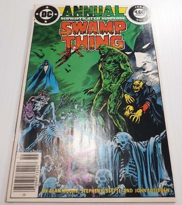 Swamp Thing Annual #2 VF 8.0 Cdn PRICE VARIANT KEY 1st Justice League Dark Moore
