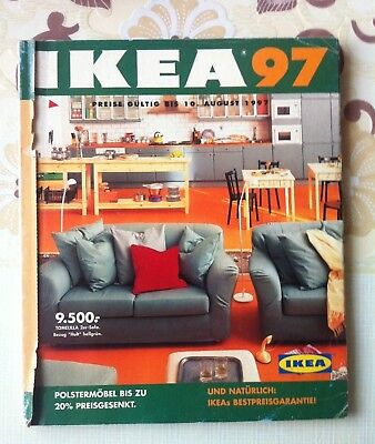 IKEA CATALOG MAGAZINE October 1997 326 Pages in German