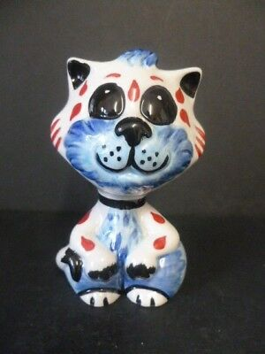 """Lorna Bailey """"mittens"""" Cat New Unused Hand Painted & Signed"""