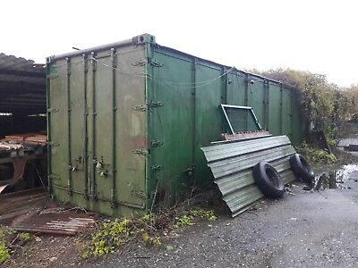 30ft Container Multi Door Full Side + End Opening Ideal Modular Home Conversion