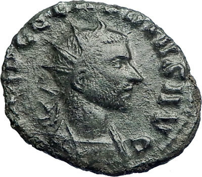 CLAUDIUS II Gothicus 268AD Authentic Ancient Roman Coin Providentia   i73495