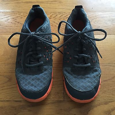 9c11a36ab91ce Boys C9 Champion Surpass Running Athletic Shoes Lightweight Gray Orange  Size 4.5