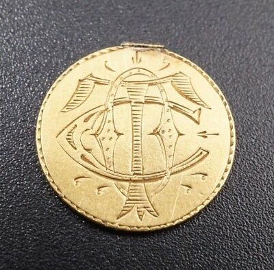 Authentic US Gold Dollar Love Token 1857-1889 TOC M681