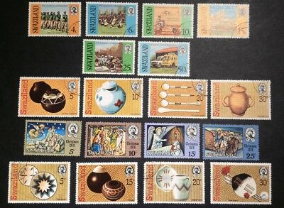 SWAZILAND 1978 4 x FINE USED SETS