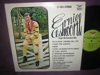 LP Ernie Ashworth: Sings His Greatest Hits - USA Starday SD 964