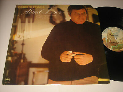 LP Tom T. Hall: About Love - USA Mercury SRM 1-1139