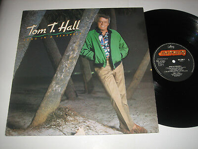 LP Tom T. Hall: Song In A Seashell - Niederlande Mercury 824508-1