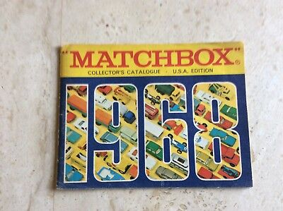 Matchbox Superfast collectors catalogue, USA edition, 1968