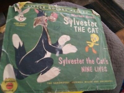 Little golden book record Warner Bros. Sylvester The Cat