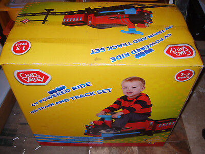 Chad Valley Powered Ride On Train and Track Set - Boxed - Ages 1 - 3 years