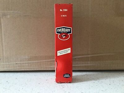 vintage eveready battery in very good used condition
