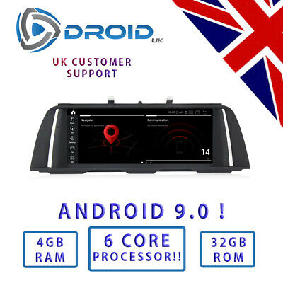 BMW F10 F11 Quad Core Android 7.1 (Neue Version 26cm Auto DVD für 5er