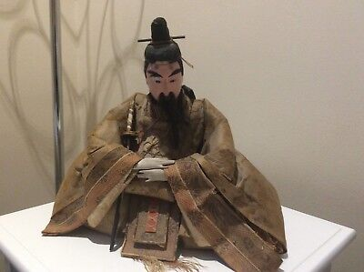 Japanese Samurai Doll
