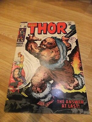Marvel Comic Journey into Mystery Thor 159 December 1968