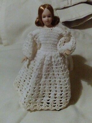 12th scale dolls house woman in OOAK outfit