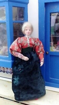 12th scale dolls house Victorian lady