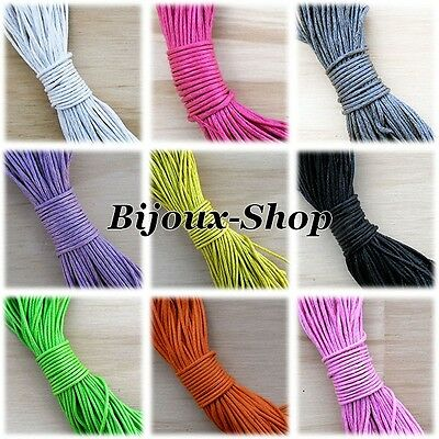 10 M wire waxed cotton cord diameter 1 mm