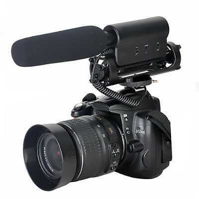 D-598 Condenser Photography Interview Recording Microphone for DSLR DV