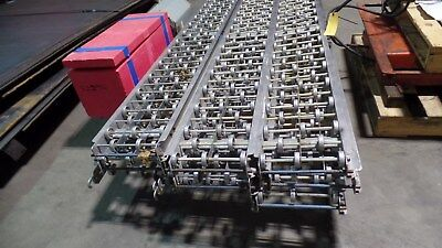 "12"" x 8' Speedways Aluminum gravity roller conveyor One section 2"" rollers"