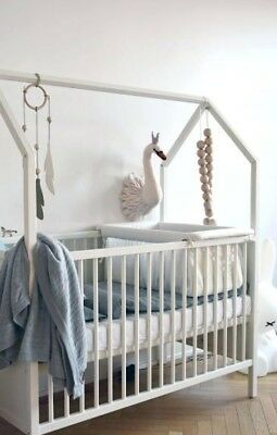 Stokke home crib - White / pre-owned baby crib (Local pickup only NYC)