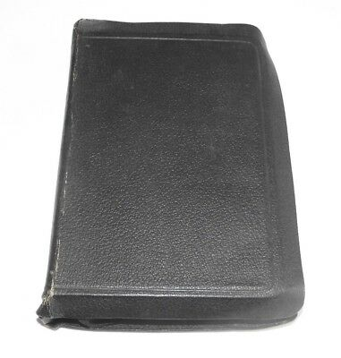 Vintage Holy Bible, inc. Helps to the Study of the Bible, Leatherbound, c.1946