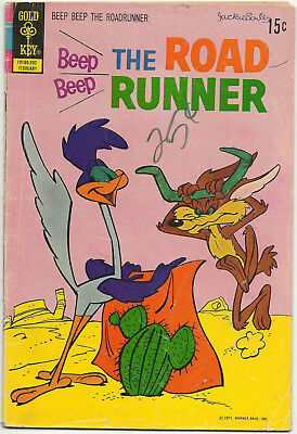 Beep Beep the Road Runner LOT 2 #28 1972 #55 1975 Gold Key Warner Bro Daffy Duck