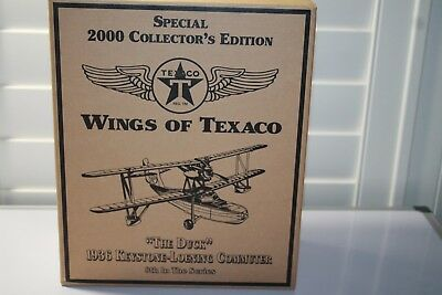 Wings Of Texaco The Duck 2000 Chrome Special Edition Collectors Plane 8Th