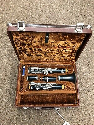 Henkin Clarinet With Vandorin 5RV Mouthpiece Vintage Refurbished With Case