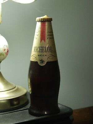 Michelob [Anheuser-Busch] ~ Beer Bottle Flashlight ~ Ltd Promo ~ Vtg Label HTF