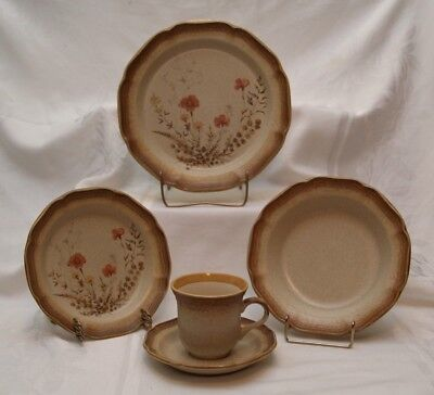 MIKASA Whole Wheat Jardiniere Cup & Saucer Bowl Salad Dinner Plates Replacements