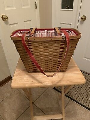 Longaberger 2004 Weekend Tote Set Mothers Day