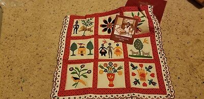 NEW IN BOX ADDY'S FAMILY ALBUM QUILT – American Girl, Retired