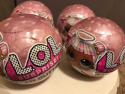 LOL Surprise Doll Glam Glitter Lot Of 4 Unopened
