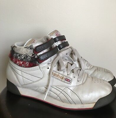 6dc020886e7 RARE Vintage REEBOK Classic Freestyle Hi Top Special Holiday SNEAKERS Womens  7
