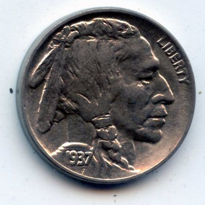 1937-d Buffalo Nickel (SEE PROMOTION)