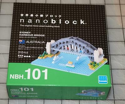 Sydney Harbour Bridge Nanoblock Miniature Building Blocks New Sealed Pk NBH 101