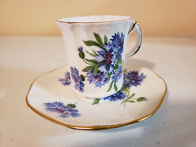 Hammersley Fine Bone China Tea Cup and Saucer - Made in England