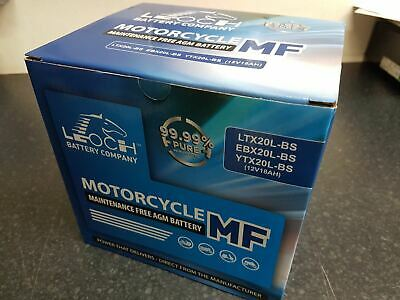 Battery (Conventional) for 2001 Buell S3 Thunderbolt NO ACID
