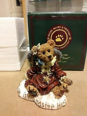 Boyds bears and friends figurine 'Guinevere The angel, Love is the master...