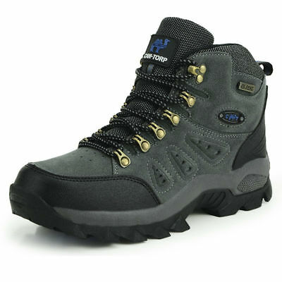 Men's waterproof lightweight suede winter outdoor garden work hiking boots shoes