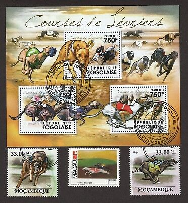 GREYHOUND ** Int'l Dog Stamp Collection ** Unique Gift Idea*