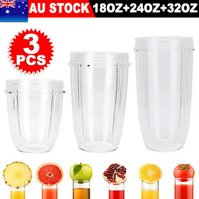 NUTRIBULLET COLOSSAL CUP 18/24/32OZ- SUITS All 600/900W Nutri Bullet AU SELLER