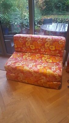 60's retro sofa bed - original and great for an instant extra bed