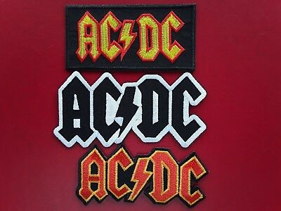 AC//DC HEAVY ROCK METAL MUSIC AUSTRALIAN BAND EMBROIDERED PATCH UK SELLER